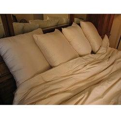 Organic Eco-Valley Wool Filled Medium Firmness Pillow