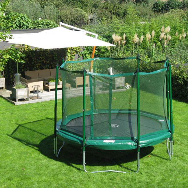 Kidwise Jumpfree 14 Foot Trampoline With Safety Enclosure