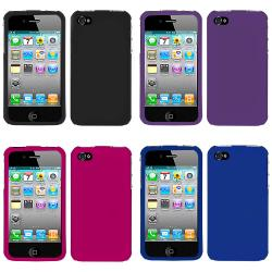 Premium Apple iPhone 4 Rubberized Case