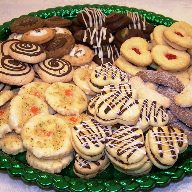 Oma Gisi's Large Cookie Assortment Fruity Gourmet Cookies (Box of 50)