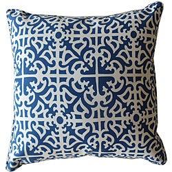 20  20-inch Malibu Blue Outdoor Decorative Pillow