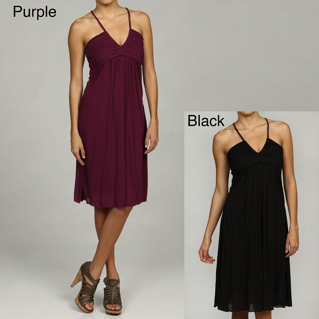 Ruby Juniors Pleat Front Dress