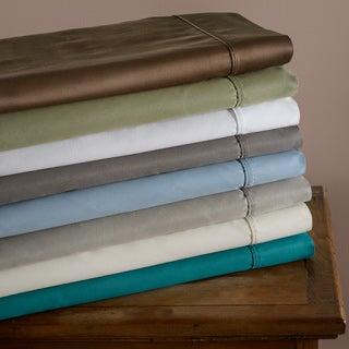 Luxor Treasures Cotton Blend Sateen 600 Thread Count Split King Wrinkle-resistant Sheet Set