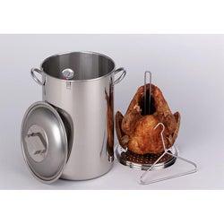 King Kooker 26-quart Stainless Steel Turkey Pot