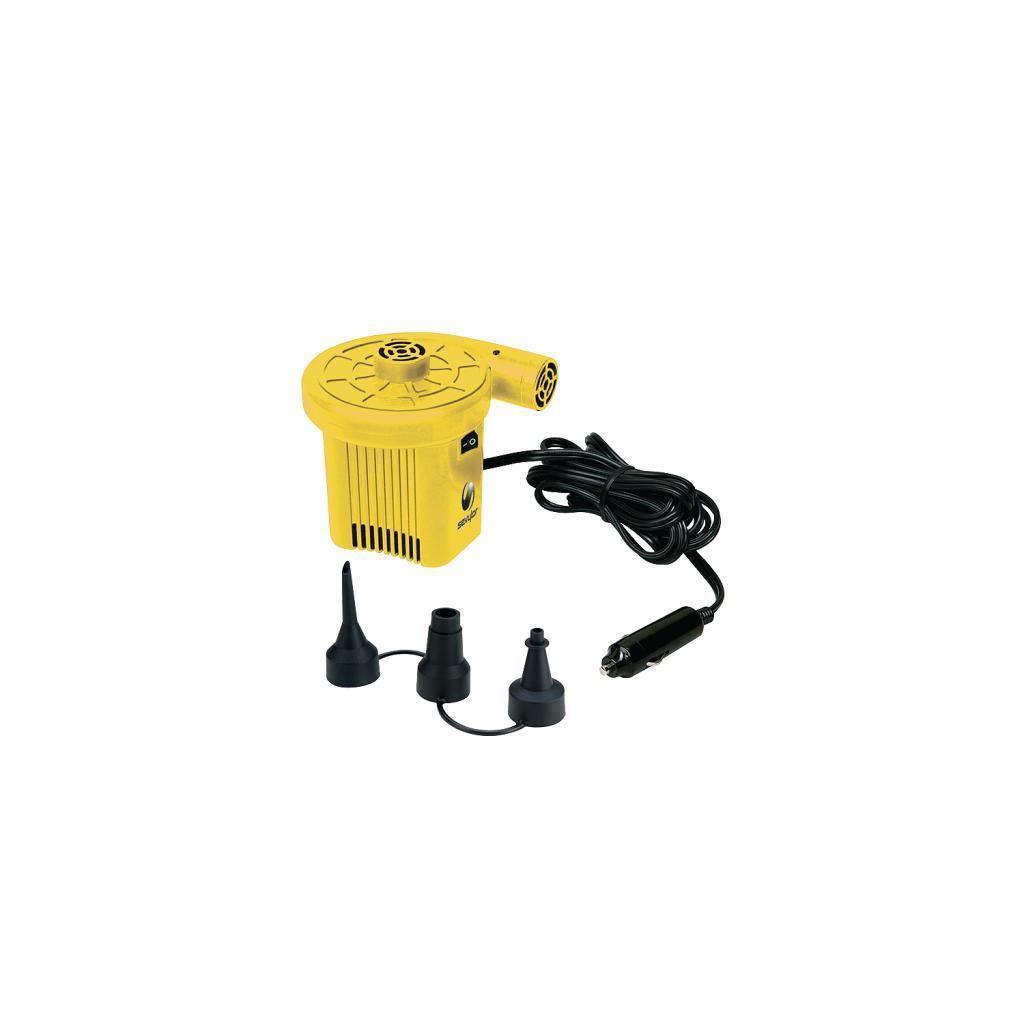 Coleman 1 PSI 12-volt Plastic Car Adapter Pump with Universal Nozzles