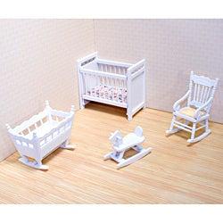 Melissa & Doug Doll House Nursery Furniture