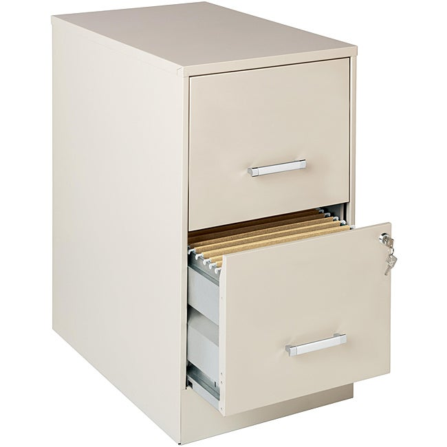 Office Designs Stone-colored 2-drawer Steel File Cabinet
