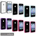 INSTEN Premium Apple iPhone 4 TPU Bumper Phone Case Cover