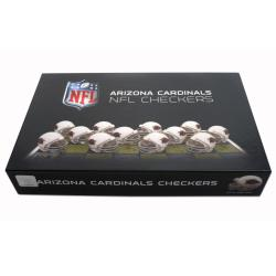 Rico Arizona Cardinals Checker Set