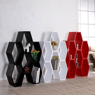 Furniture of America Chloe Stackable Wood Storage Unit