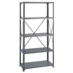Safco Commercial Steel Shelving 5-shelf Shelf Kit