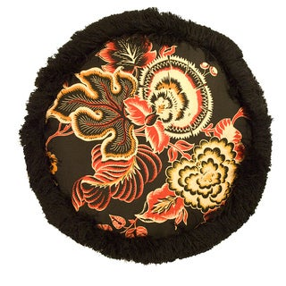Rose Tree Carlton Tambourine Pillow