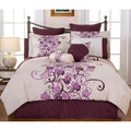 Grapevine California King-size 12-piece Bed in a Bag with Sheet Set