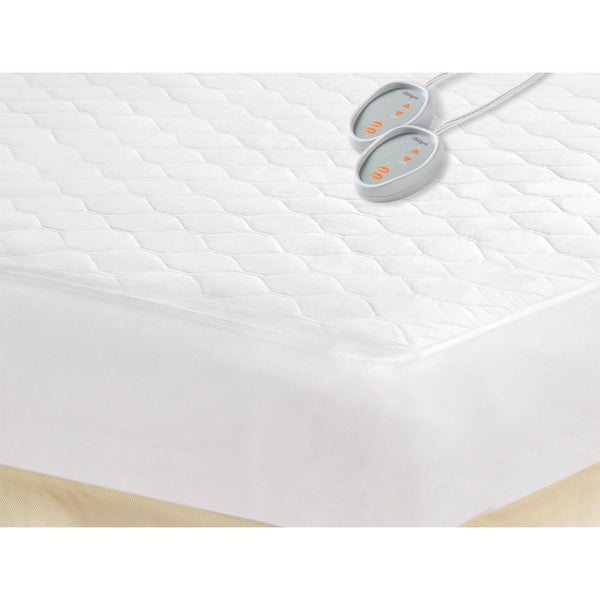 Beautyrest Queen-size Heated Electric Mattress Pad ...