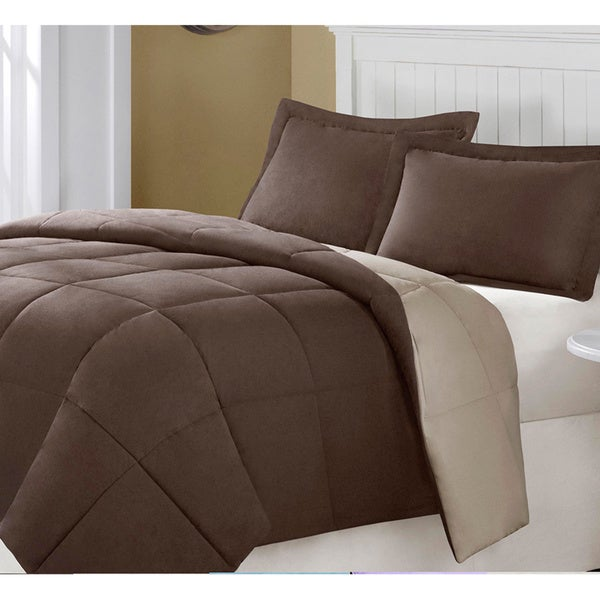 Grand Down All-season Luxurious Reversible Down Alternative Comforter