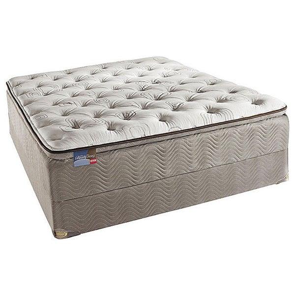 Simmons BeautySleep North Farm Pillow Top Queen-size Mattress Set