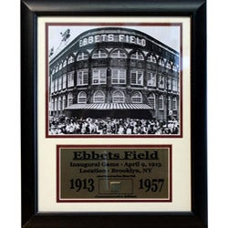 Ebbets Field Deluxe Game Used Frame