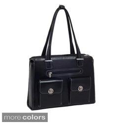 McKlein Women's Verona Checkpoint-friendly 15.4-inch Laptop Briefcase