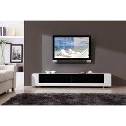 Roma White 2-drawer TV Stand