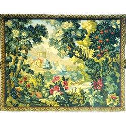 Peaceful Verdure European Tapestry Wall Hanging