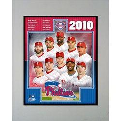 Encore Select 2010 Philadelphia Phillies Framed Photograph