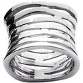 Toscana Collection Sterling Silver Multi-tiered Band