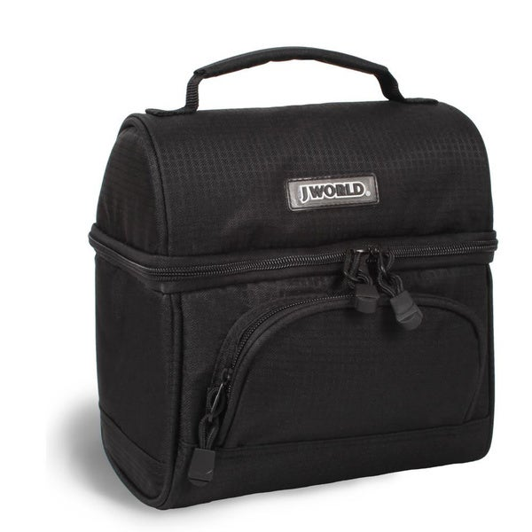 J World Black Corey Lunch Bag Overstock Shopping