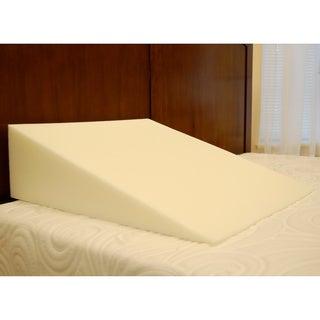 SplendoRest Visco Elastic Memory Foam Extra Firm Support Bed Wedge Pillow