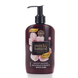 Pure & Natural 8.45-ounce Cherry and Almond Oil Hand Soaps (Pack of 4)