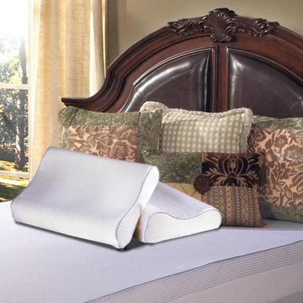 Grande Hotel Collection Contour Memory Foam Pillow