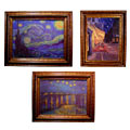Van Gogh Starry Night Canvas Collection (set of 3)