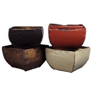 Vintage Chinese Rice Bucket
