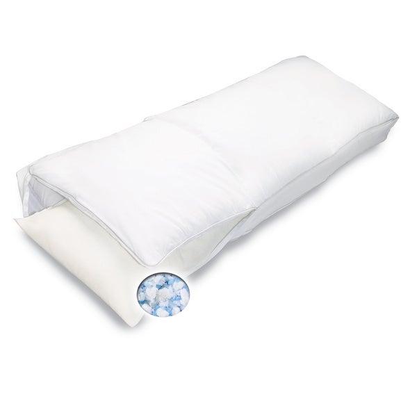 Bodipedic Gel Memory Foam Body Pillow