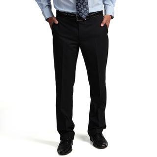 Kenneth Cole Reaction Men's Slim-Fit Navy Mini-Stripe Flat-Front Suit Separate Pant