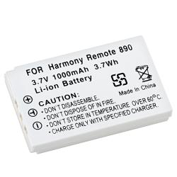 Insten Rechargeable Li-ion Battery for Logitech Harmony Remote 890