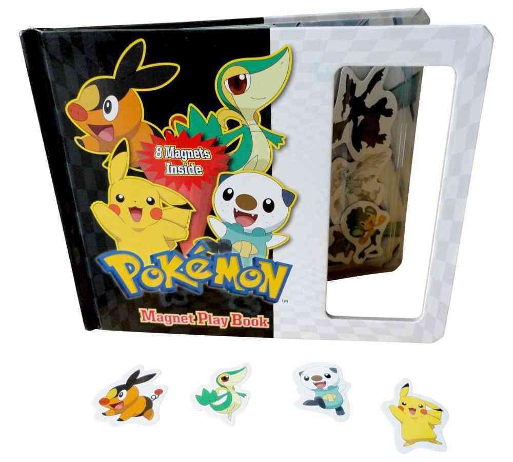 Pokemon Magnet Play Book (Hardcover)
