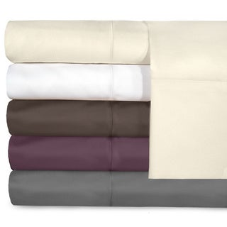 Grand Luxe Egyptian Cotton Sateen 800 Thread Count Deep Pocket Sheet Set or Pillowcase Separates