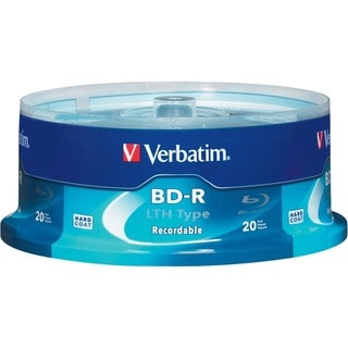 Verbatim BD-R LTH Type 25GB 6X - 20pk Spindle