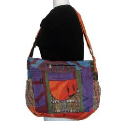 Jute Colorful Messenger Bag (Nepal)