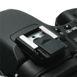 INSTEN Black Camera Flashlight Hot Shoe Cover