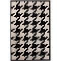 nuLOOM Hand-tufted Spectrum Houndstooth Wool Rug (5' x 8')