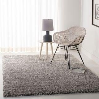 Safavieh Cozy Solid Silver Shag Rug (4' x 6')