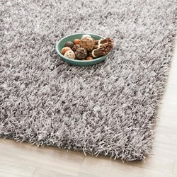 Safavieh Medley Grey Textured Shag Rug (4' x 6')
