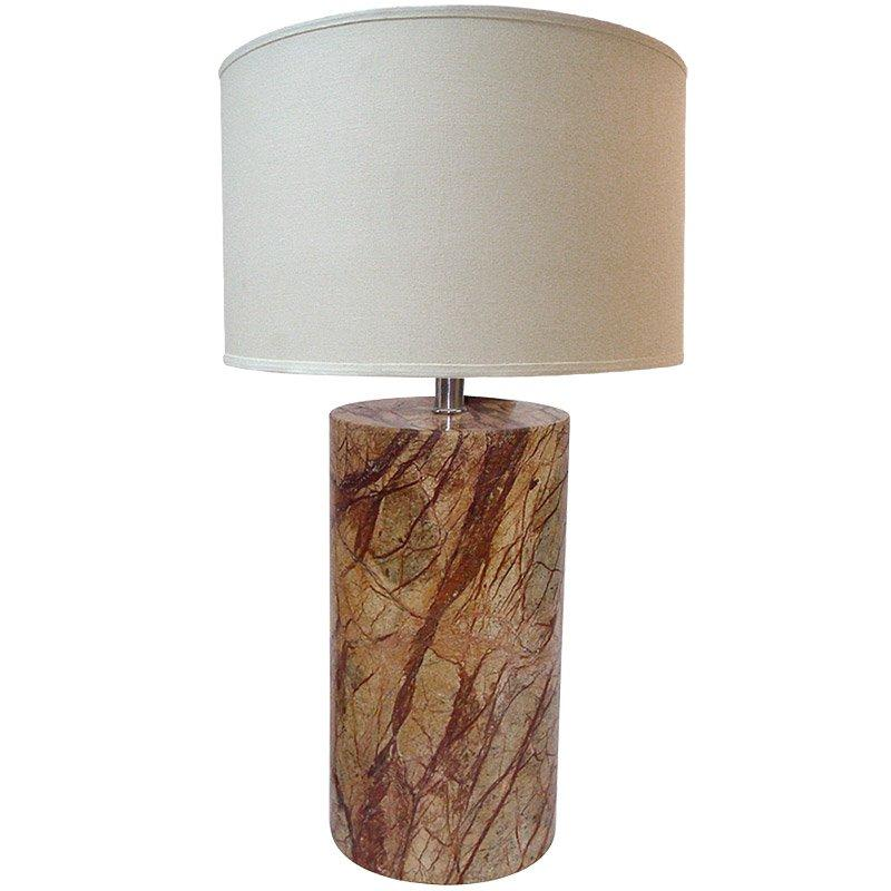Grains of Sand Natural Stone 1-light Table Lamp