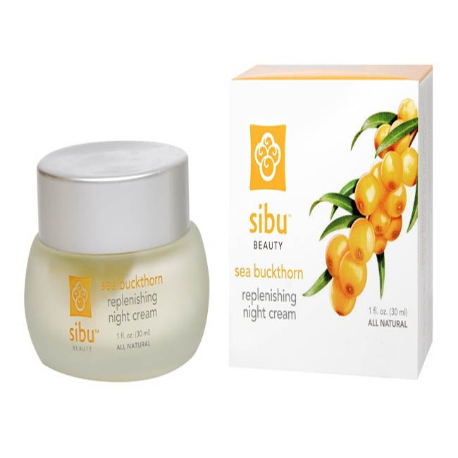 Sibu Sea Buckthorn 1-ounce Rejuvenating Night Cream