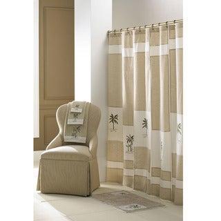 Tropical Pattern Croscill Home 70x72-inch Fiji Shower Curtain