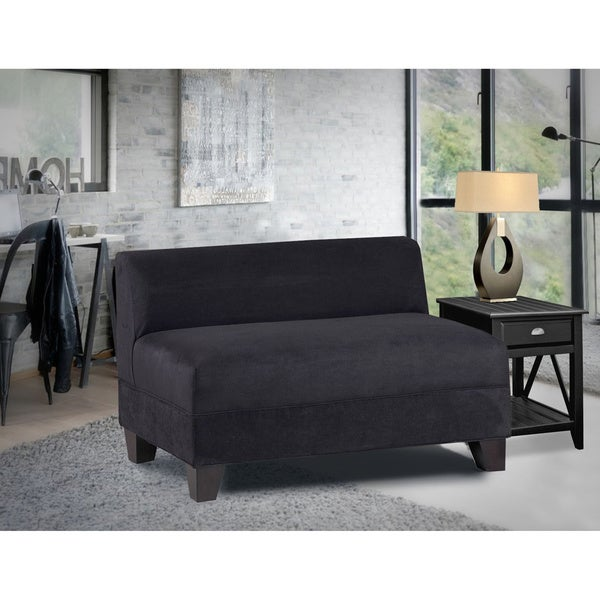 Makenzie Midnight Black Loveseat