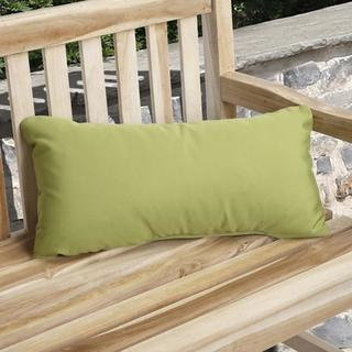 Charisma Outdoor Green Pillow Made with Sunbrella