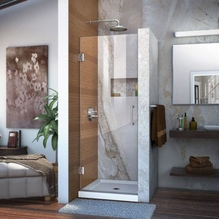 DreamLine Unidoor 27x72-inch Frameless Hinged Shower Door