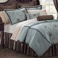 Amaryllis 24-piece Traditional Polyester Room in a Bag with Sheet Set